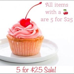 5 for $ 25 sale!